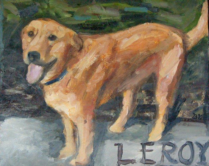 Leroy painting